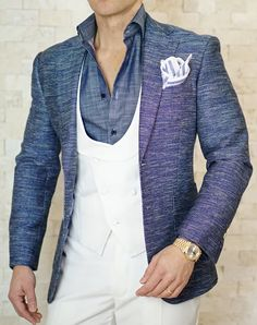 What are your feeling s on this denim on denim look? #sebastiancruzcouture