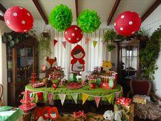 caperucita roja party ideas cumpleaños - Buscar con Google