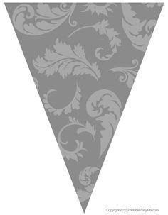 silver graduation flag decorations