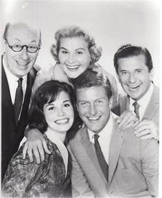 The Dick Van Dyke Show is an American television sitcom that initially aired on CBS from October 3, 1961, until June 1, 1966. The show was created by Carl Reiner and starred Dick Van Dyke, Rose Marie, Morey Amsterdam and Mary Tyler Moore also starring Larry Mathews  Richard Deacon  Jerry Paris  Ann Morgan Guilbert  Joan Shawlee