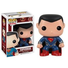 Shop for the Superman Man of Steel Pop Heroes Vinyl Figurine today. This is an officially licensed Superman Figurine available at Stylin Online now. Funko Pop Marvel, Funko Pop Superman, Marvel E Dc, Marvel Man, Pop Vinyl Figures, Funko Pop Figures, Superman Black Suit, Superman Man Of Steel, General Zod