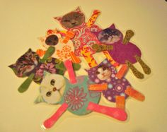 All That and a Bag o' Cats by kittykittycupcake on Etsy, $25.00