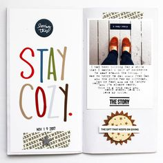 Stay Cozy by JustMel at Studio Calico
