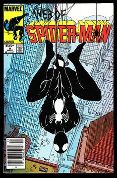 Marvel Web of Spider-Man comic issue 8 Marvel Comic Books, Comic Books Art, Comic Art, Book Art, Avengers Comics, Black Spiderman, Amazing Spiderman, Spiderman Marvel, Marvel E Dc