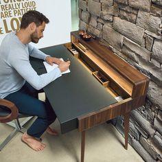 Sols Home-Office-Schreibtisch mit allem, was Sie brauchen
