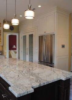 African Rainbow Granite Design Ideas, Pictures, Remodel and Decor