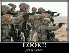 *unleashes army of Uruk-Hai/ Nazgûl/ Orcs/ Man/ Elves/ Dwarves/ Dragons* Sorry major lotr fan XD <--No! Don't look at the lightsssss. Military Jokes, Army Humor, Military Life, Gun Humor, Airsoft, Smith Wesson, Thing 1, Military Service, Twisted Humor