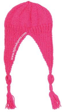 Tutorial  gorro tipo chullo para niños de 1 a 3 años tejido en dos agujas ec81533407c