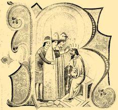 Coronation of King Béla IV on 14 October 1235 Hungary History, Age Of King, Exotic Places, Ancestry, Vintage World Maps, Symbols, October, Genealogy, Faces
