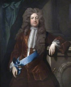 Charles Montagu, 1st Earl of Halifax, one of the Founders of the Bank of England ~ Michael Dahl I