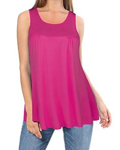 Ineffable Summer Sleeveless Round Neck Tunic top Loose Casual Shirt