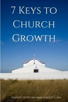 Church growth is not about competing with the ministry down the street but more about developing the people God has planted in the local church | Smart Church Management