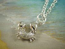 Krebs Sternzeichen Halskette 925 Sterling Silber