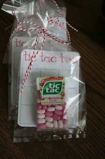 Tic tac toe valentines: These are so cute and incorporate a little candy without drowning them in sugar.
