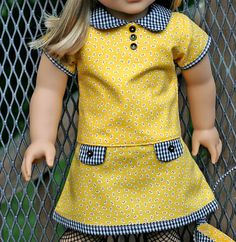 American Girl Doll Mod Daisy Outfit by TallulahSophieToo