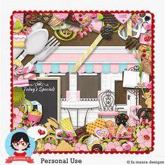Kit - Sweet Shop by Fa Maura