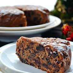 Jamaican Christmas Fruit Cake  I'm really excited to try this recipe. I might exchange the cherries for figs, but otherwise, it looks delicious!