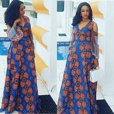 Beautiful African Ankara fashion Styles for Slay Queens To Slay Any Where You Find Yourself. These beautiful ankara styles are for slay queens in Nigeria, Ghana, Kenya, south africa and UK Latest African Fashion Dresses, African Print Dresses, African Dresses For Women, African Print Fashion, Africa Fashion, African Wear, African Attire, Ankara Fashion, Nigerian Fashion