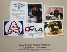 The Quad County African American Chamber of Commerce celebrated its 20th Year Anniversary with a commemorative photo book. Contact the Chamber at (630) 859-9776 to purchase one.