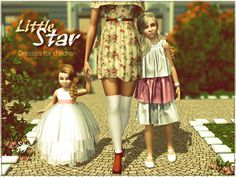 Sims Studio: Little Star