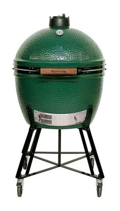 Want a Big Green Egg, but need more space? The Big Green Egg XL is a large capacity Charcoal Kamado Grill with solid construction and fantastic cooking capabilities. Big Green Egg Prices, Big Green Egg Large, Big Green Egg Grill, Best Smoker Grill, Charcoal Grill Smoker, Best Charcoal Grill, Egg Smoker, Grill Sale, Bbq Pitmasters