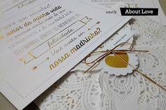 Convites E Papelaria   Vestida de Noiva   Blog de Casamento por Fernanda Floret