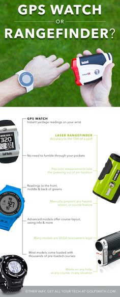 Not sure to go GPS or Rangefinder? We can help with your #golf #gifts #AnythingForGolf