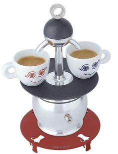 The Papalina - the smallest Espresso machine in the world.
