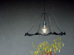 The new series of lamp designed by Christine Hechinger Lamp Design, Contemporary Design, Past, Ceiling Lights, Shapes, Lighting, Crochet, Life, Home Decor