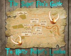 The Super Fan's Guide To Harry Potter's London - if I ever make it to England!