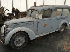 Fiat ambulance WWII