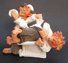 Proktologist and His Patient by denisart on Etsy, $129.00
