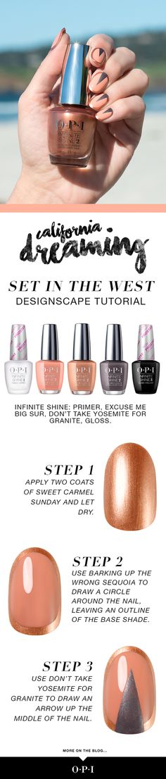 Read about @stephstonenails' roadtrip up the coast with OPI for the new California Dreaming collection!