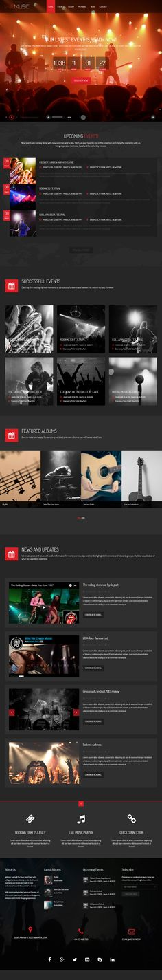 WeMusic is Premium Responsive Retina #Drupal #Music Theme. #ParallaxScrolling. Bootstrap 3 Video Background. Test free demo at: http://www.responsivemiracle.com/wemusic-premium-responsive-music-band-event-drupal-theme/