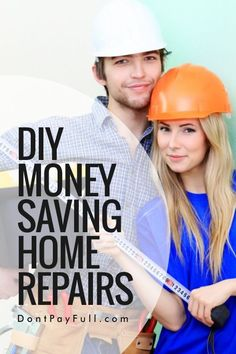 Doing some of your home repairs yourself can save you hundreds of dollars – but if you get it wrong, it could end up costing you more than it was actually worth in the first place. Check out our selection of things you can do yourself without risking making matters worse. #DontPayFull