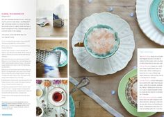 my thoughts & recipe for floral tea shaved ice in @anthologymag with @Courtney Apple's photos
