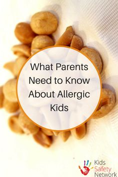 What every parent needs to know about allergic kids and what to do if they have an allergic reaction. Healthy Kids, Healthy Eating, Kids Allergies, Safety Tips, Child Safety, Kids Meals, Need To Know, Parents, Recipes