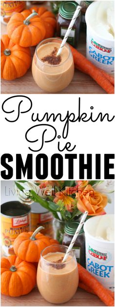 Try this Festive Pumpkin Pie Smoothie recipe from @memeinge with filling protein and fiber. This smoothie is a velvety, heavenly, fabulous post-run treat or healthy snack that has a nice amount of protein and packs in the produce with pumpkin, carrots & b