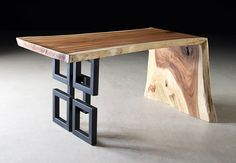 Phillips Collection - Austin Desk Chamcha Wood