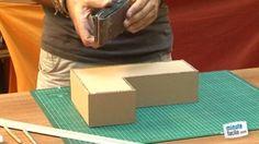 Vidéo : fabriquez une lettre en carton à décorer