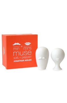 'Mr. & Mrs. Muse' Salt & Pepper Shakers
