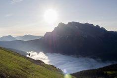 Sechs Länder werden bei den X-Alps überquert.