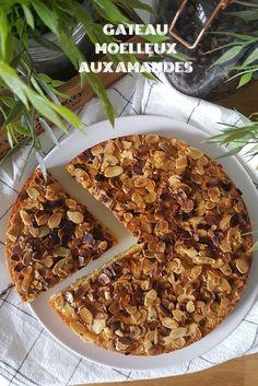 Gâteau aux amandes. #gateau #amande #amandes #recette #recipe #healthy #food #gouter