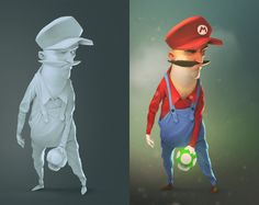 Mario_AO, Alexey Mikhaylov on ArtStation at http://www.artstation.com/artwork/mario_ao