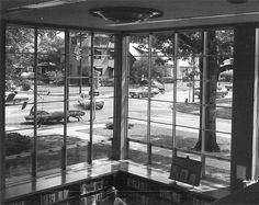 View from the reading room at the old Topeka Public Library