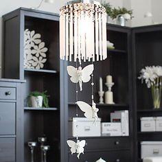 Butterfly+suunnittelu+Tasokiinnitys,+1+Light,+Creative+Iron+Glass+Kemianteollisuus+–+USD+$+69.99