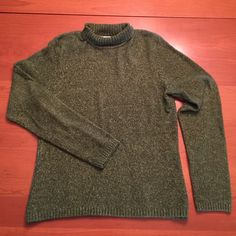 Talbots Mock Turtleneck Sweater Very soft and cozy!  Very good condition, barely worn. Talbots Sweaters