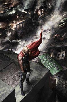 Thor: God of Thunder #24 by Agustin Alessio *