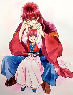 Yona and Hiryuu ~