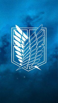Attack on Titan Scouting Legion iPhone 5 wallpaper